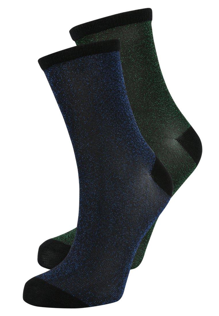 Women DINA SOLID GLITTER  2 PACK - Socks