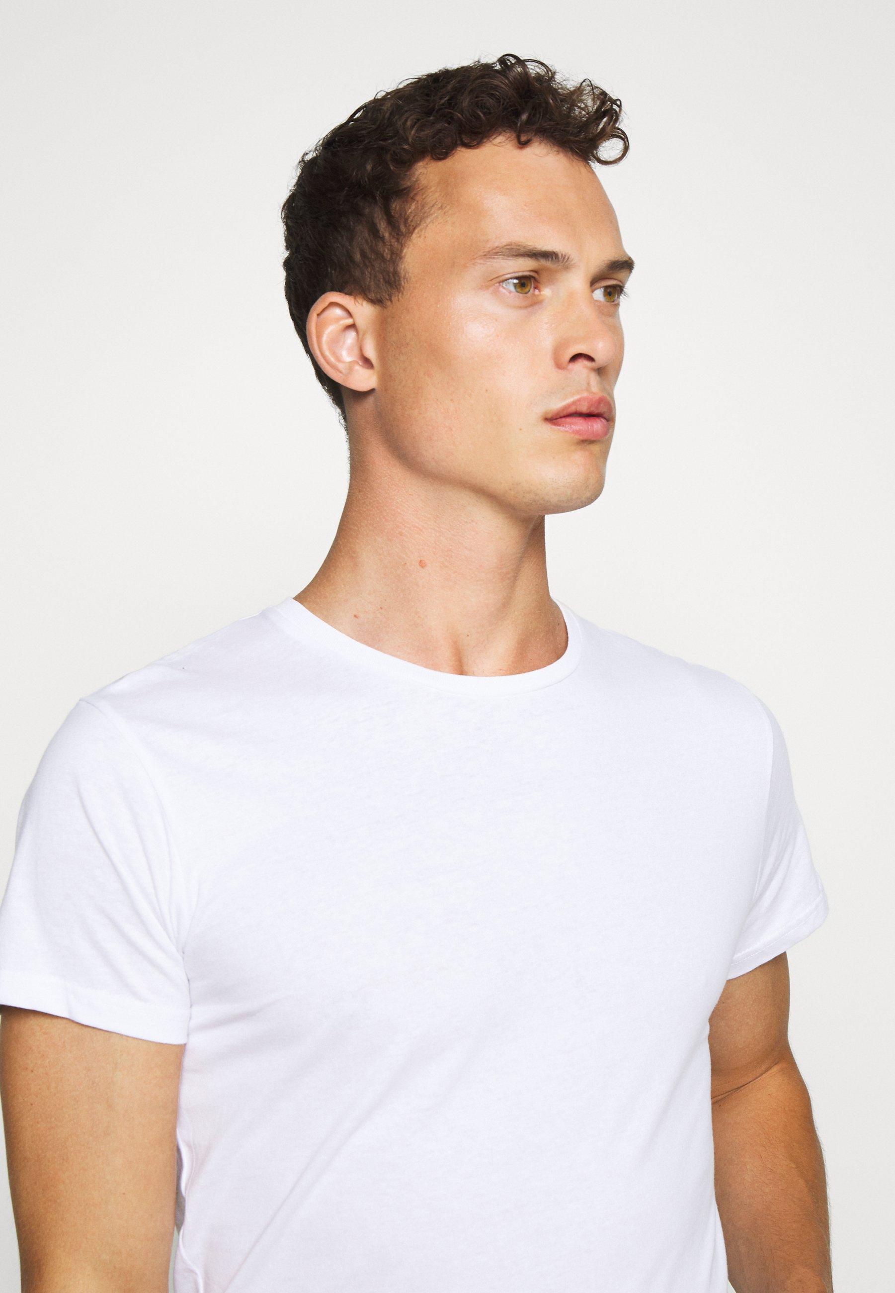 INDICODE JEANS EAKIN 3 PACK - Basic T-shirt - black V2Xwm