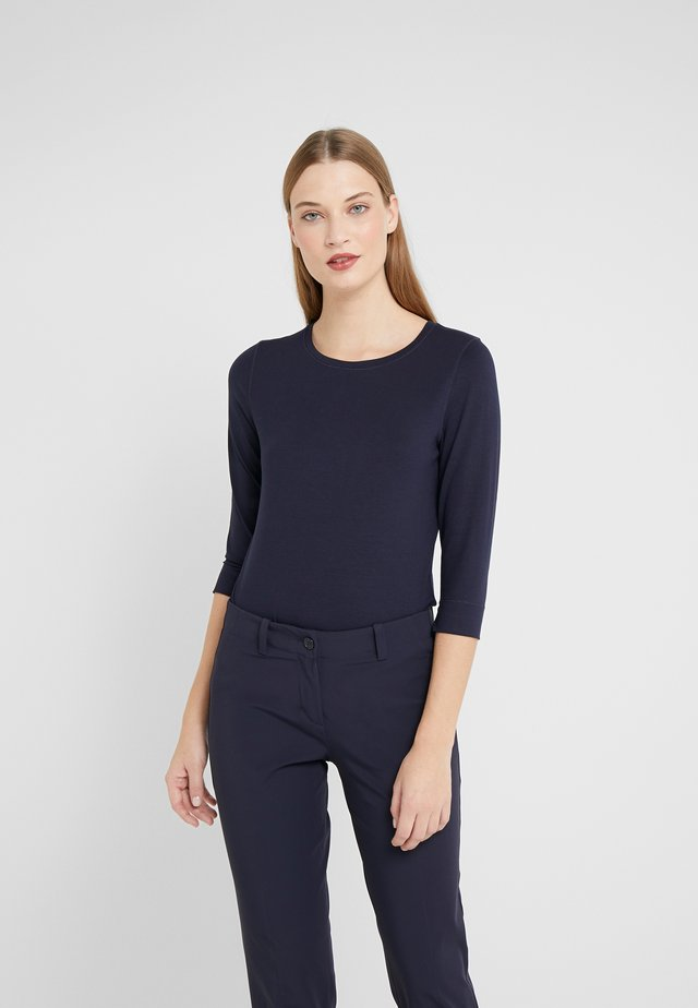 Long sleeved top - deep blue