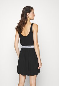 Calvin Klein Jeans - LOGO DRESS - Day dress - black - 2