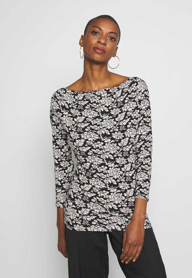 TIRSI - Long sleeved top - schwarz