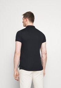 Tommy Hilfiger - INTERLOCK ZIP SLIM  - Polo shirt - desert sky - 2