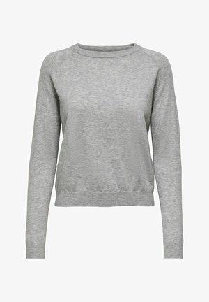 EINFARBIG - Sweatshirt - light grey melange