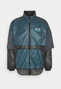EA7 Emporio Armani - Lehká bunda - black/teal - 5