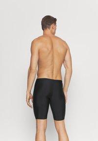 Speedo - TECH LOGO JAM - Swimming trunks - tech black/ardesia - 1