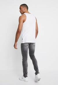 Pier One - Slim fit jeans - grey - 2