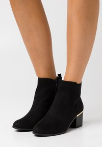 New Look Wide Fit - WIDE FIT CLARENCE  - Ankle boots - black - 0