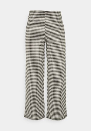 JDYHUGH - Trousers - black/houndstooth