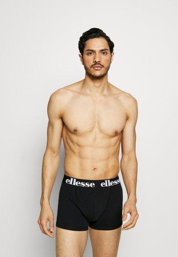 NURRA FASHION TRUNKS 5 PACK - Pants - black