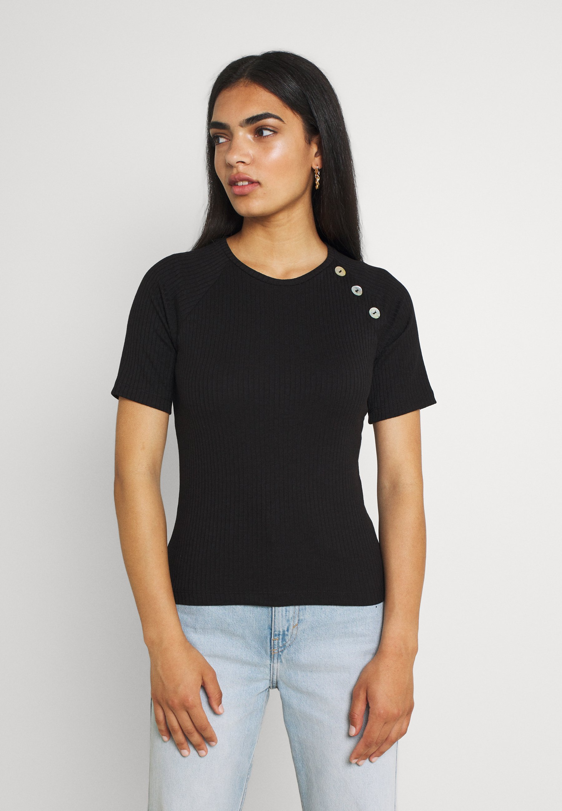 Damen VMPOLLY BUTTON VIP - T-Shirt print