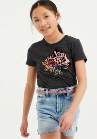 WE Fashion - T-shirts print - dark blue - 1