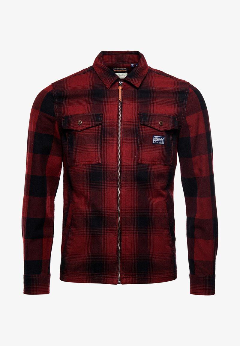 Superdry - Shirt - classic red mix
