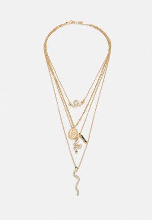 PCAKELEJE COMBI NECKLACE - Smykke - gold-coloured