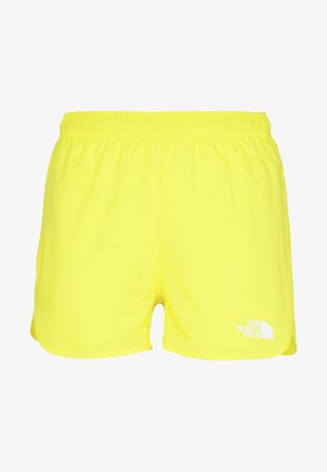 WOMENS ACTIVE TRAIL RUN SHORT - Träningsshorts - lemon