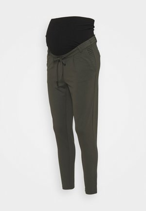 OLMPOPTRASH EASY LIFE PANT - Trousers - peat