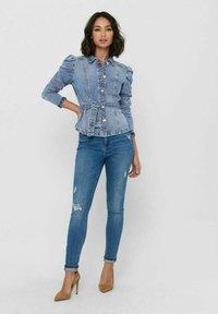 ONLY - Denim jacket - medium blue denim - 1