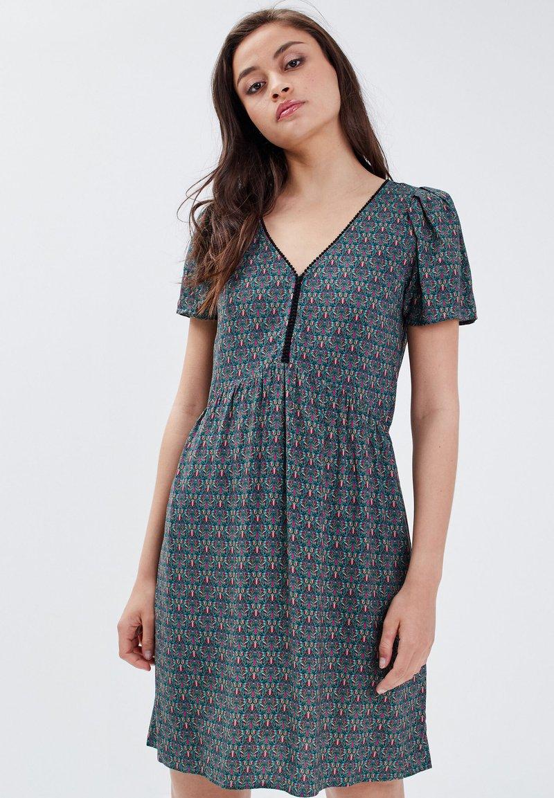 BONOBO Jeans - Robe d'été - vert turquoise