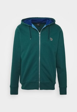 ZIP HOODY - Sweatjacke - dark green