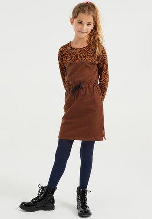 Abito in maglia - brown