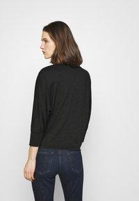 Opus - SITZA - Long sleeved top - black - 2