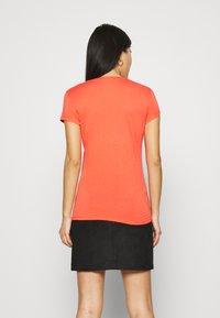 Armani Exchange - Print T-shirt - sangria - 2