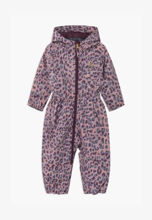 GIRLS  ONESIE - Kombinezon zimowy - light pink, bordeaux