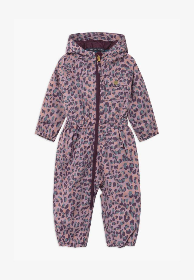 GIRLS  ONESIE - Schneeanzug - light pink, bordeaux