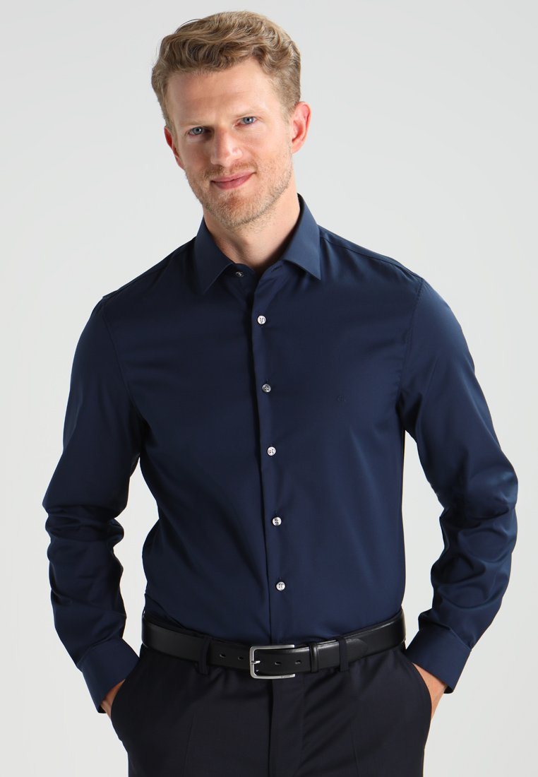 Calvin Klein Tailored - Shirt - dunkelblau