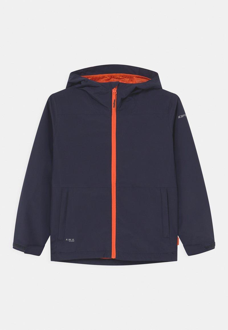 Icepeak - KNOBEL UNISEX - Outdoorová bunda - dark blue