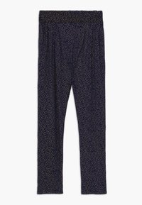 The New - OLIVIA PANTS - Trousers - black iris - 0