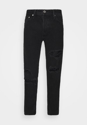 JJIMIKE JJORIGINAL - Straight leg jeans - black denim