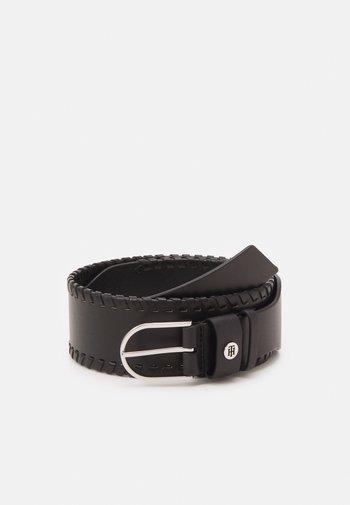 CLASSIC HIGH WAIST BELT - Waist belt - black
