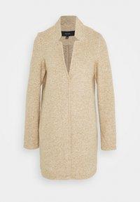 Vero Moda Tall - VMBRUSHEDKATRINE JACKET - Classic coat - silver mink melange - 0