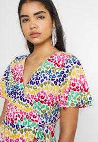 Never Fully Dressed - LUCIA RAINBOW WRAP DRESS - Maxi dress - multi - 3