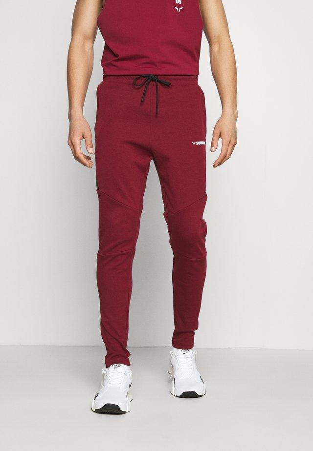 WARRIOR JOGGERS - Pantalon de survêtement - maroon