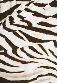 Lauren Ralph Lauren Woman - POLLY DAY DRESS - Jersey dress - cream/brown - 6