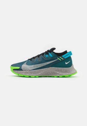 PEGASUS TRAIL 2 - Trail running shoes - dark teal green/light silver/black