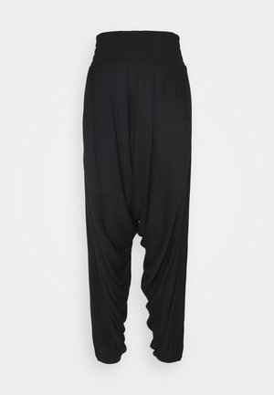 WINDY MEADOW SOLID HAREM - Pantalones deportivos - black