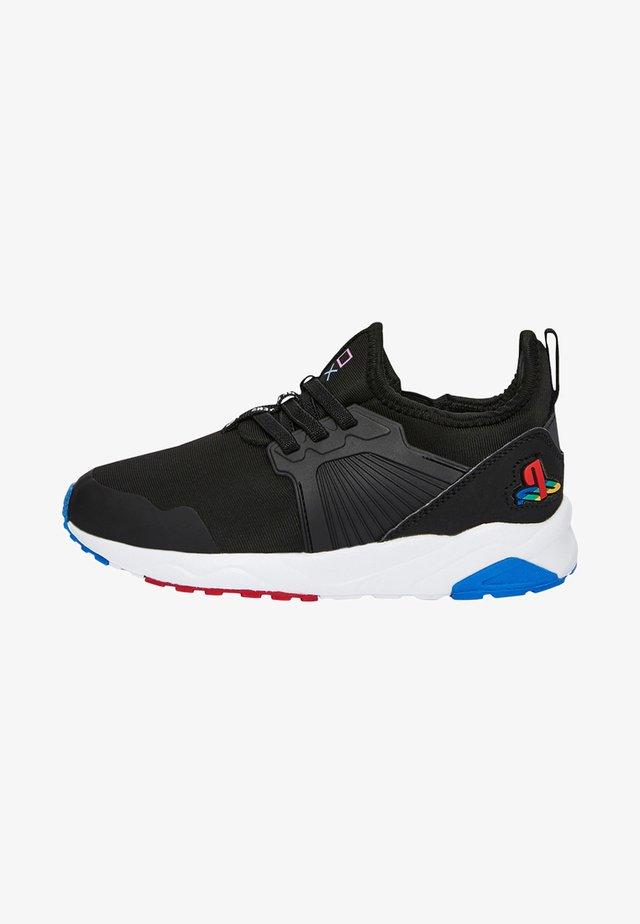 """PLAYSTATIONÂ""""¢ ELASTIC - Sneakers laag - black"""