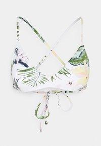 BLOOM - Bikini top - bright white praslin