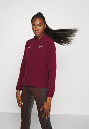 OLYMPICS JACKET TRACKSUIT - Sports jacket - dark beetroot