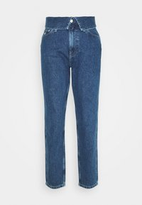 Calvin Klein Jeans - MOM - Relaxed fit jeans - dark blue - 3