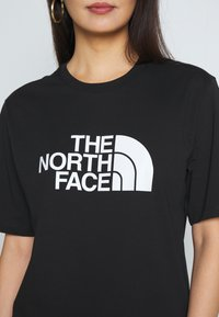 The North Face - EASY TEE - Print T-shirt - black - 5