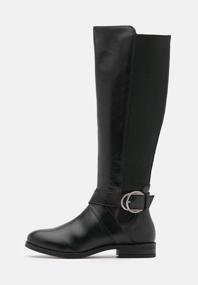 BOJANA - Stivali alti - black