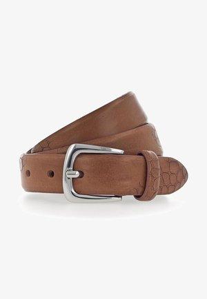 CHARLISA GÜRTEL LEDER - Belt - brown