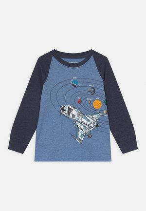 GRAPHIC TEE - Long sleeved top - blue