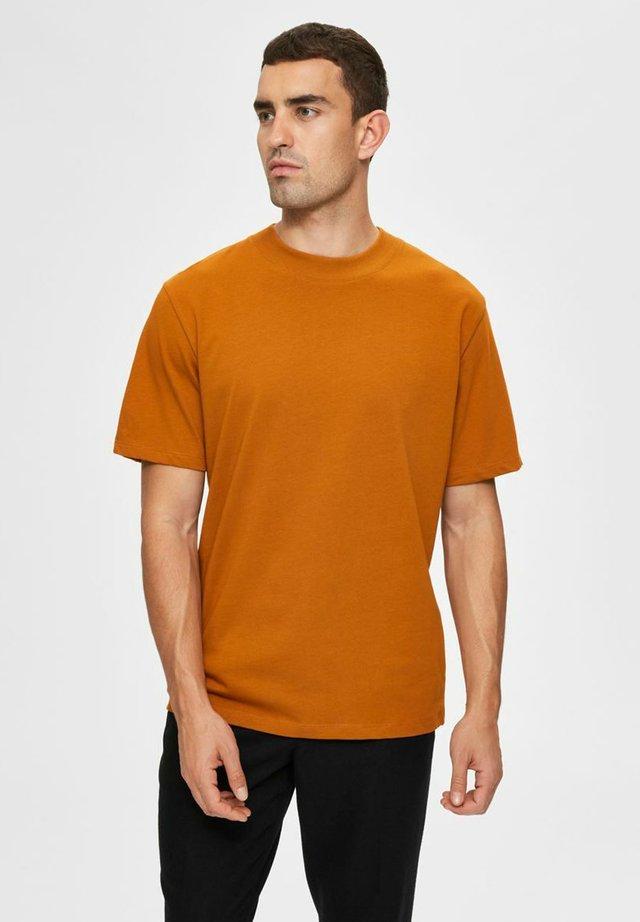 T-shirt basique - pumpkin spice