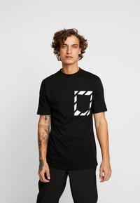 FAKTOR - KNOXX TEE - T-shirt - bas - black - 0