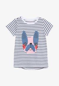 Friboo - T-shirts print - black iris/bright white - 2