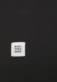 Marc O'Polo DENIM - LONG SLEEVE AND ROLL NECK - Strickpullover - black - 2